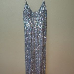 Scala Sequin Gown